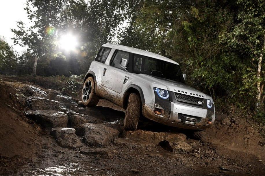 Land Rover – ιστορική στιγμή για το Defender με το DC100 concept…