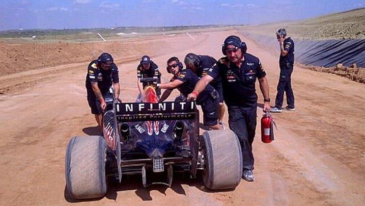 Μια F1 στο… χώμα!