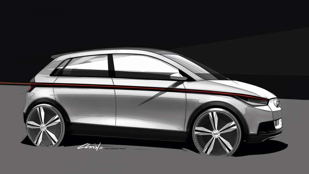 Audi A2 Concept – πρώτες εικόνες…