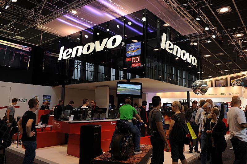 Έκθεση iFA 2011 – στο περίπτερο της Lenovo…