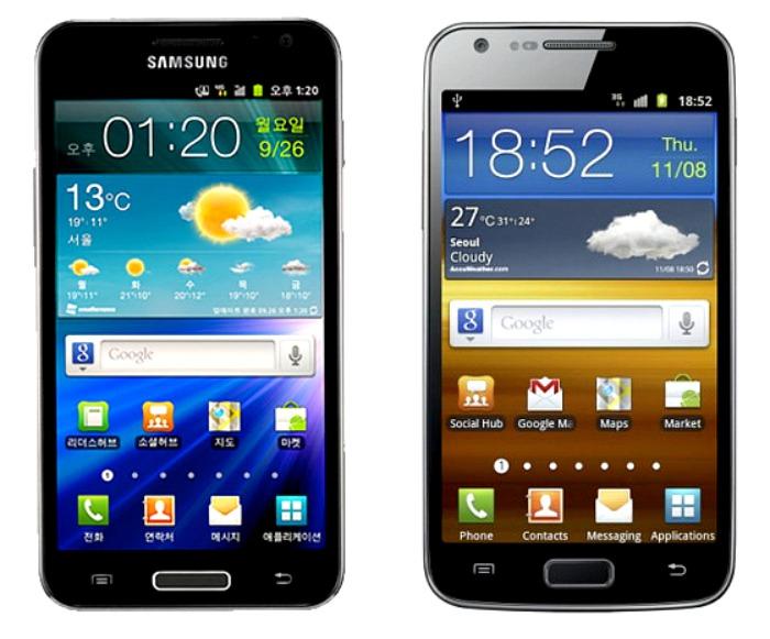 XL κινητά: δύο στις 4.5+ ίντσες….