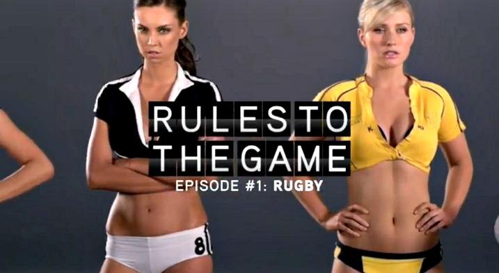 Ναι, μαθαίνουμε τους κανόνες στο rugby…