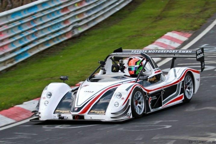Toyota ηλεκτρικό αγωνιστικό – με ρεκόρ 7.47:79 στον γύρο του Nürburgring…