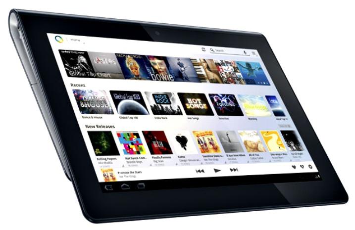 Sony Music Unlimited 1.2 – τώρα και υποστήριξη για tablet…
