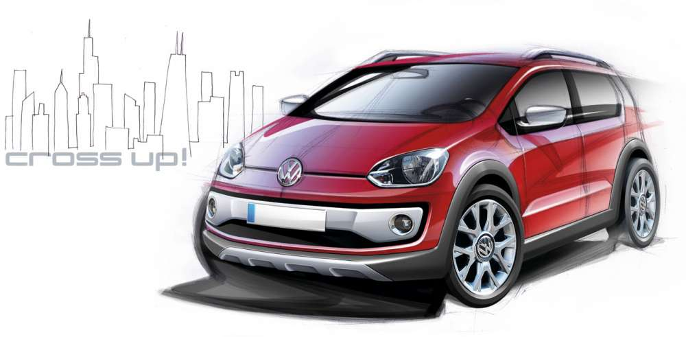 volkswagen cross up gadgetfreak not just tech. Black Bedroom Furniture Sets. Home Design Ideas