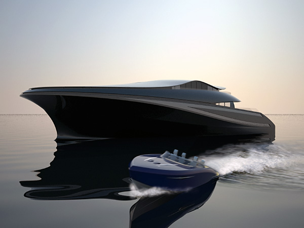 Ένα μεγάλο yacht με σχεδιαστική ταυτότητα…