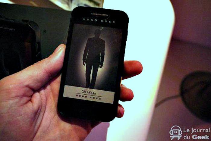 Hugo Boss έκδοση του Samsung Galaxy Ace…