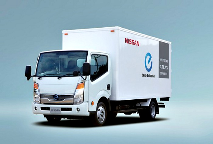 Nissan Leaf – και ένα ηλεκτρικό φορτηγό…