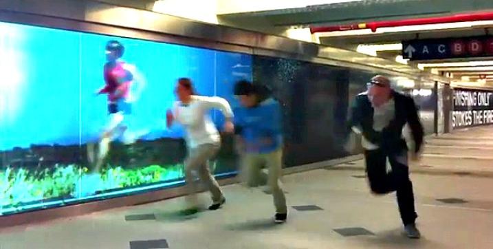 Τρέξτε με αντίπαλο ένα videowall…