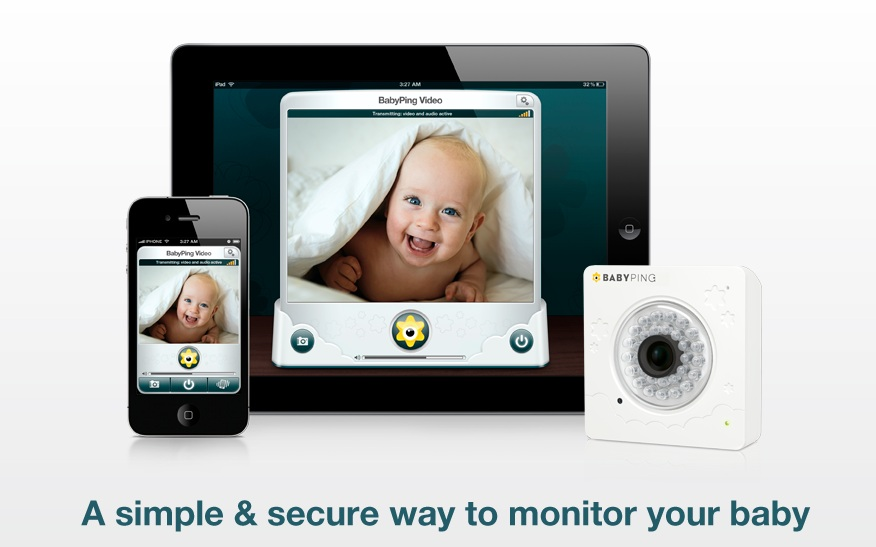 BabyPing – η συσκευή iOS γίνεται baby monitor…