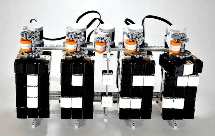 LEGO και ένα απίθανο ψηφιακό ρολόι…
