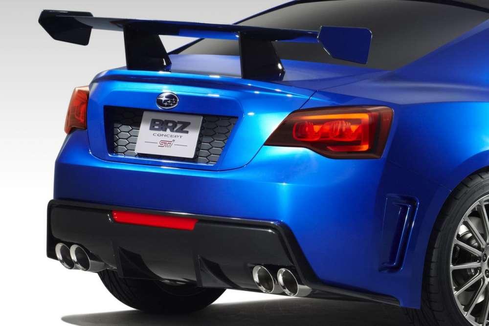 Subaru BRZ Concept STI – και η πρώτη επίσημη φωτογραφία…