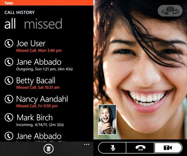 Tango για το Windows Phone…