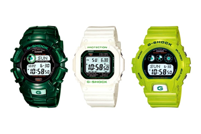 Casio G-Shock Army Green Collection