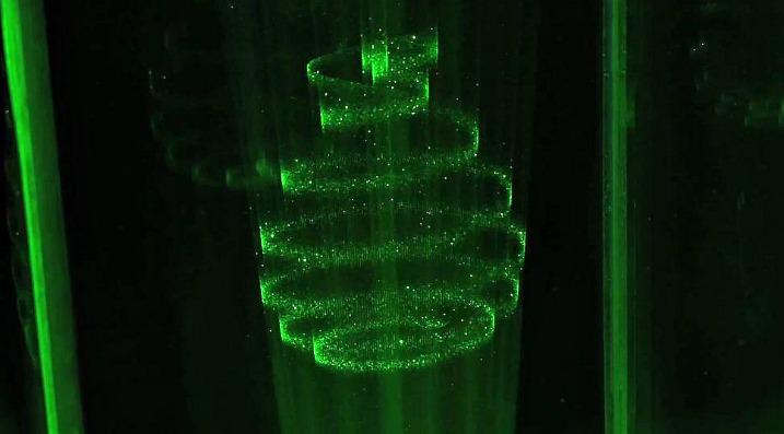 True 3D οθόνη με τεχνολογία laser plasma…