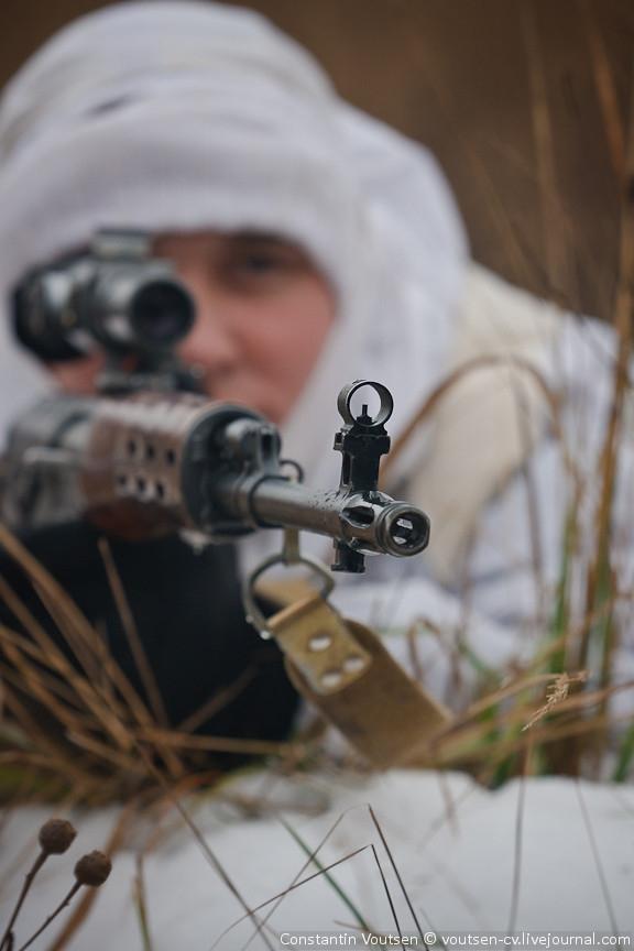 Εκπαίδευση ελεύθερων σκοπευτών στη mother Russia…