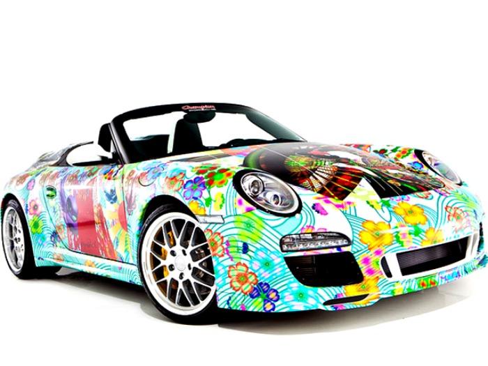 Porsche Speedster Art Car του Miguel Paredes