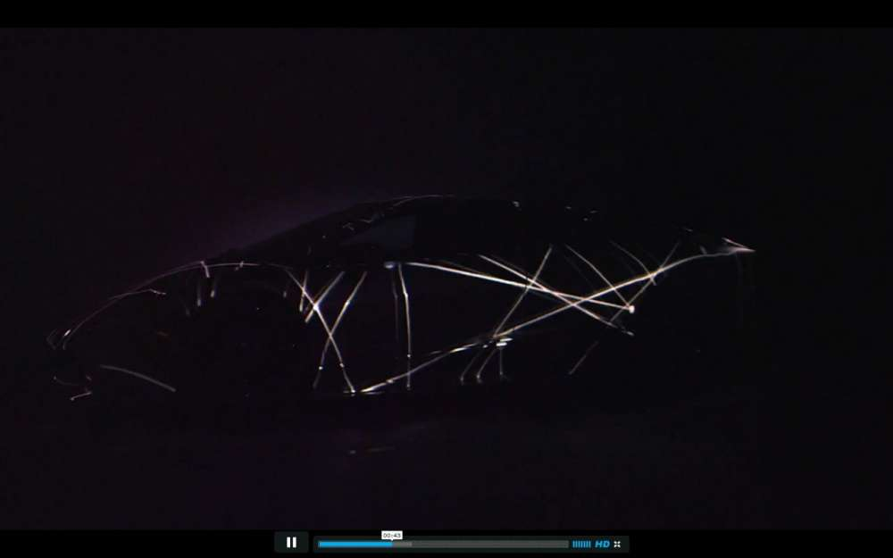 Projection Mapping σε μια Lamborghini…