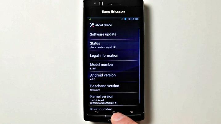 Sony Ericsson – έτοιμο το alpha Android 4.0 για τα Xperia…