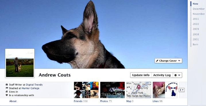 Facebook timeline – τώρα για όλους…