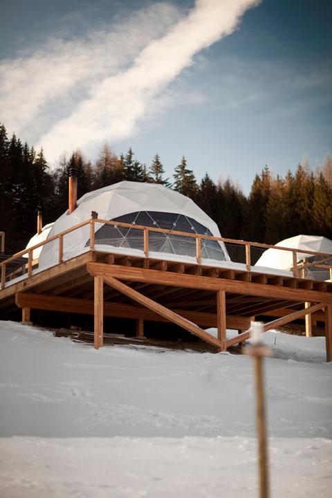 Whitepod Resort – ένα άλλο design ξενοδοχείο στης Άλπεις!