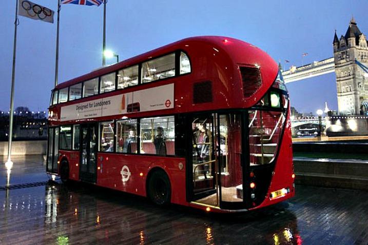 Να, αυτό είναι το νέο hi tech Λονδρέζικο διπλό λεωφορείο…