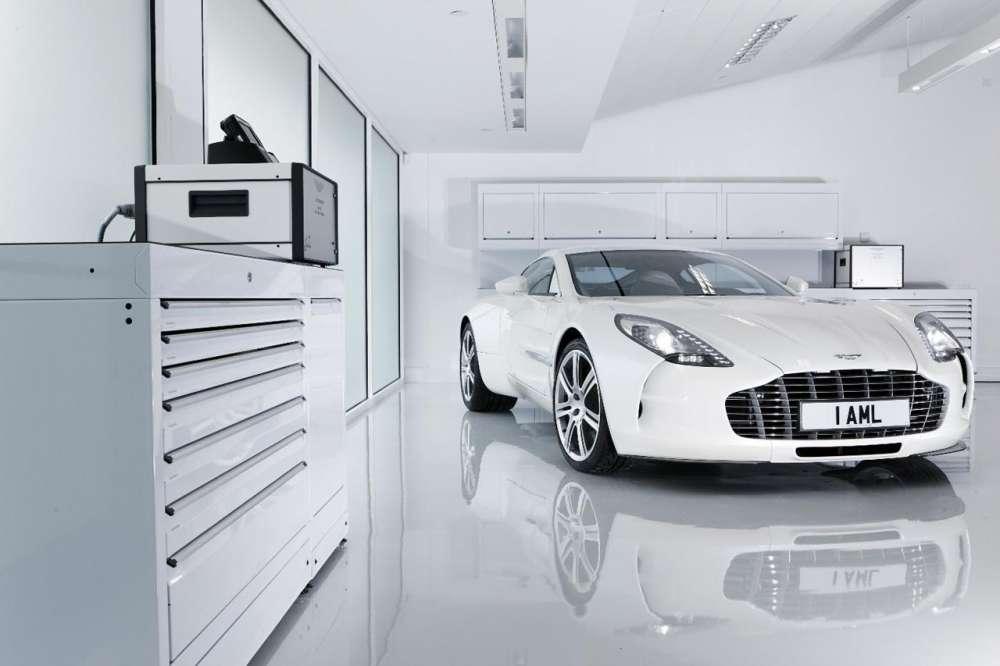 Η τελευταία Aston Martin One-77