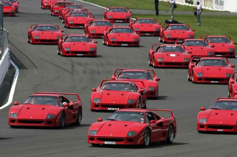 Ferrari F40 – και έσπασαν ρεκόρ…