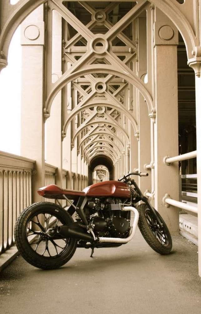 Triumph x Barbour Speed Twin Concept