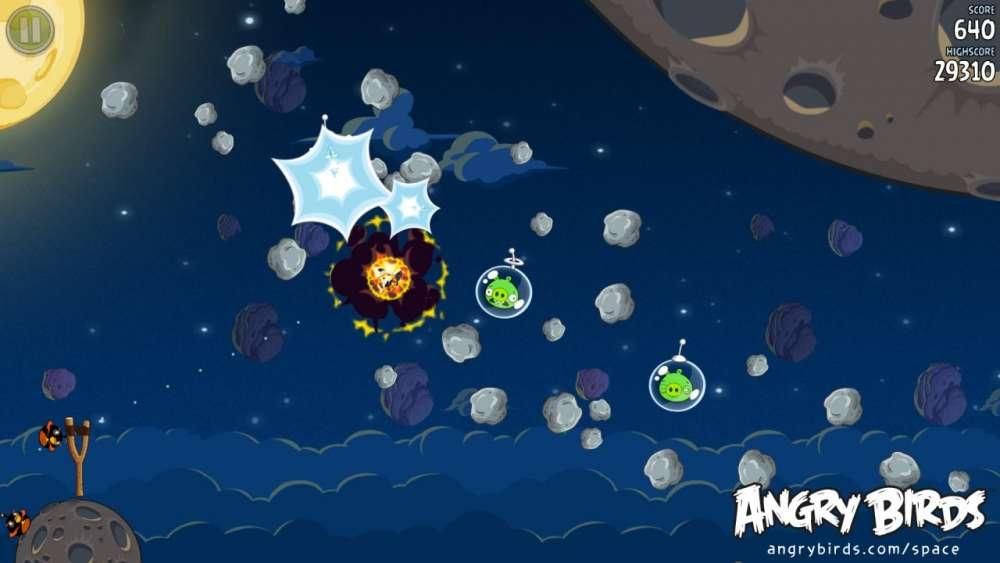 Angry Birds – και από σήμερα δράση zero G….