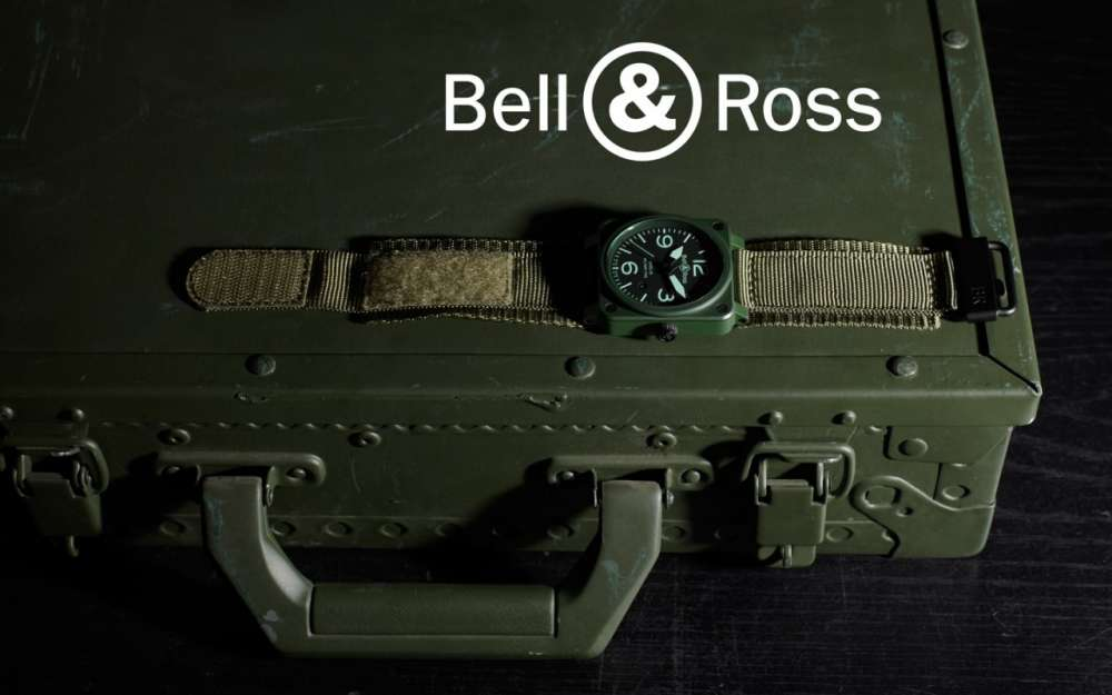 Bell & Ross Military Ceramic Watch