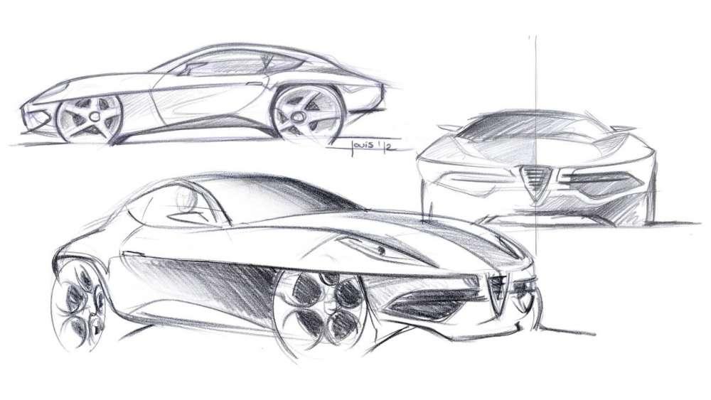 Touring Superleggera Disco Volante Concept