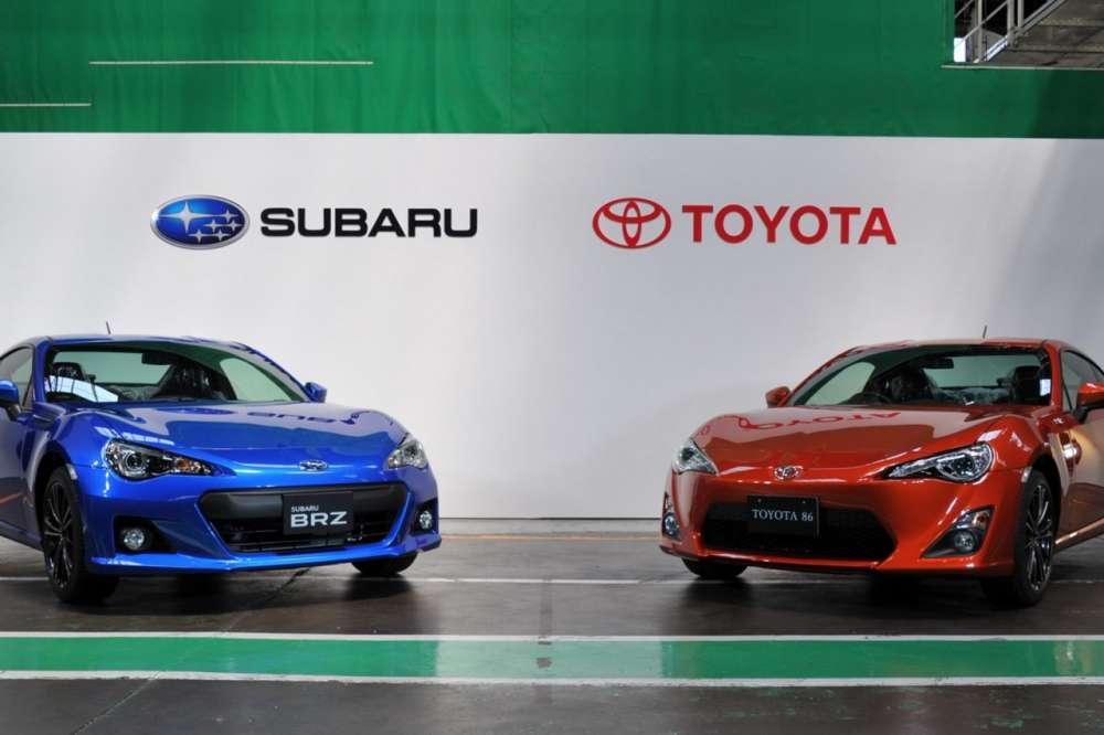 Subaru BRZ και Toyota GT 86 σε παραγωγή…