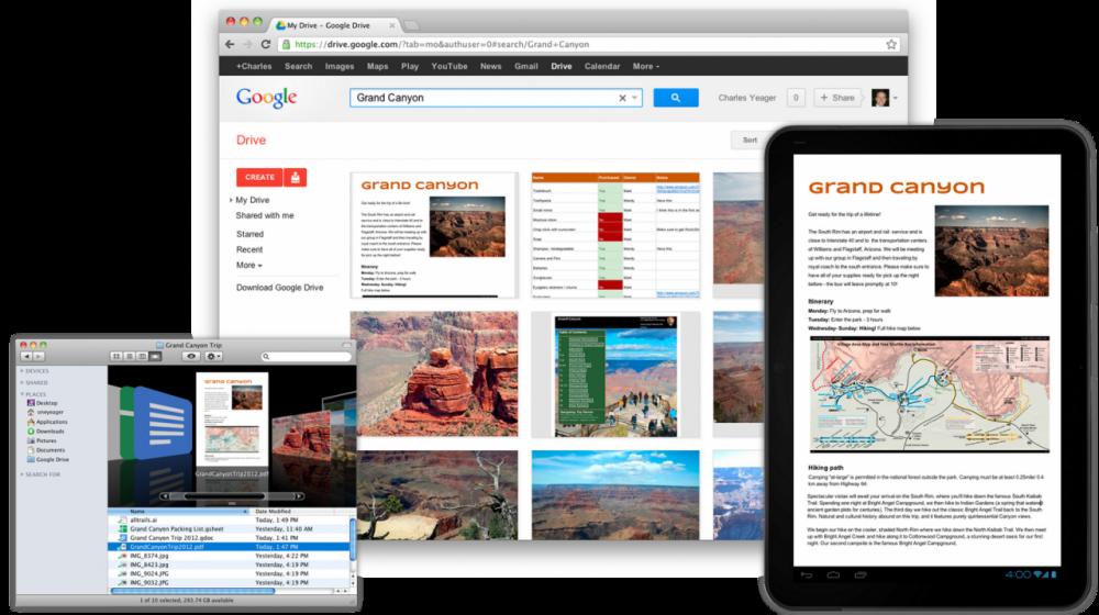 Λανσάρισμα για το Google Drive