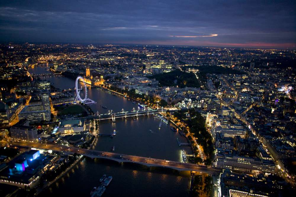London fly-over…
