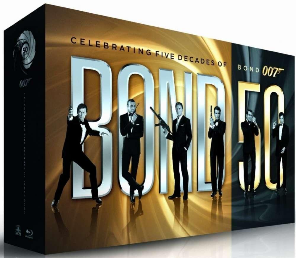 Ναι, όλες οι λεπτομέρειεα για το επετειακό Bond boxset των 50 ετών…