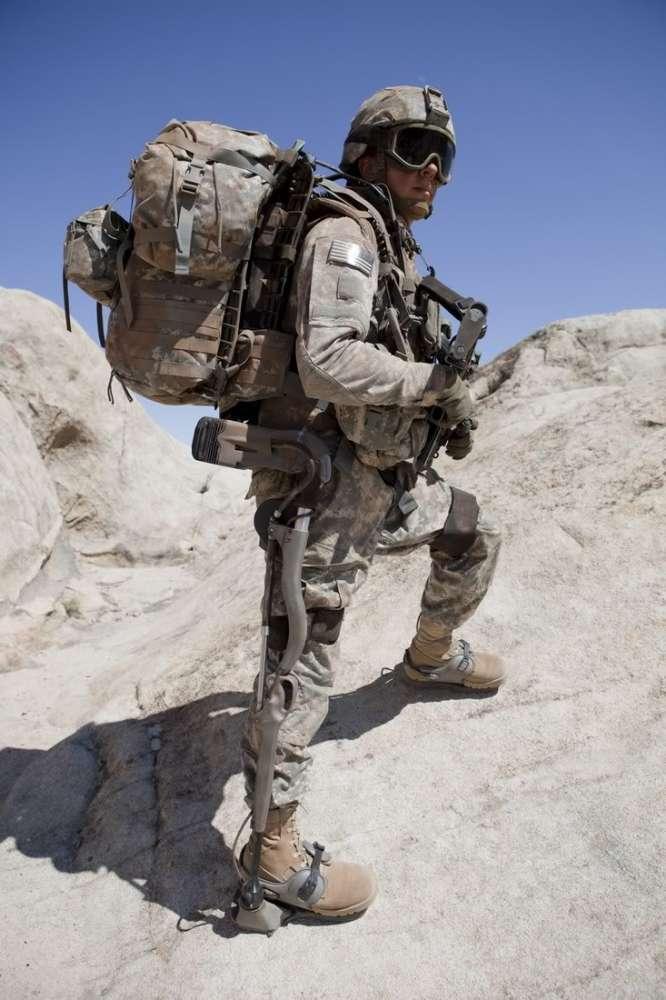 """Ο """"Ρομποσκελετός μάχης"""" πηγαίνει στο Αφγανιστάν…"""