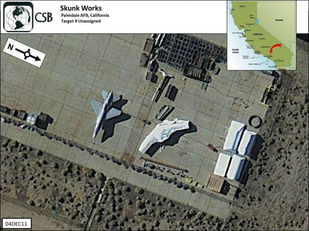 Αυτό είναι το μυστικό μαχητικό αεροσκάφος της Lockheed;