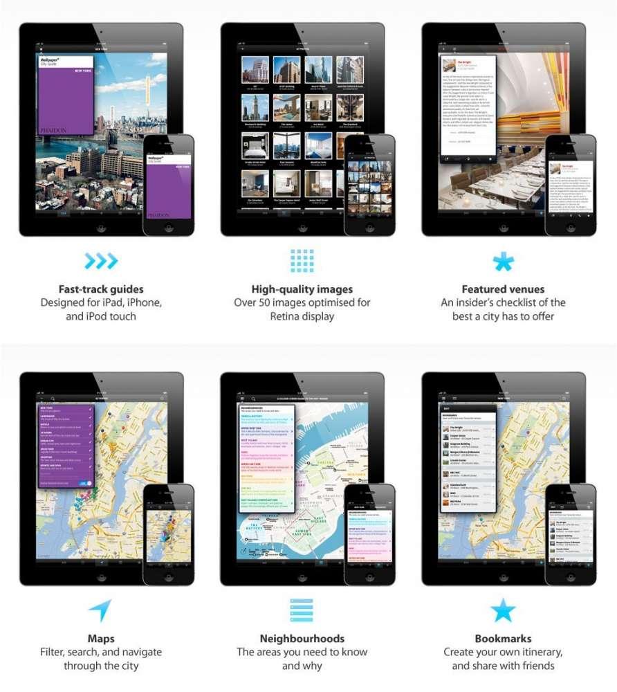 Wallpaper* City Guide  για iOS