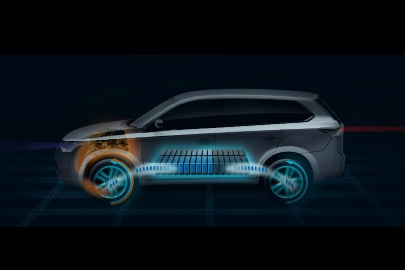 Mitsubishi 2014 Outlander – το 2013 το υβριδικό…