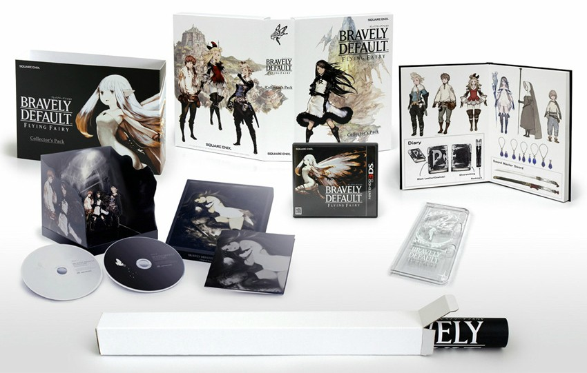 Bravely Default Japanese Collectors Pack