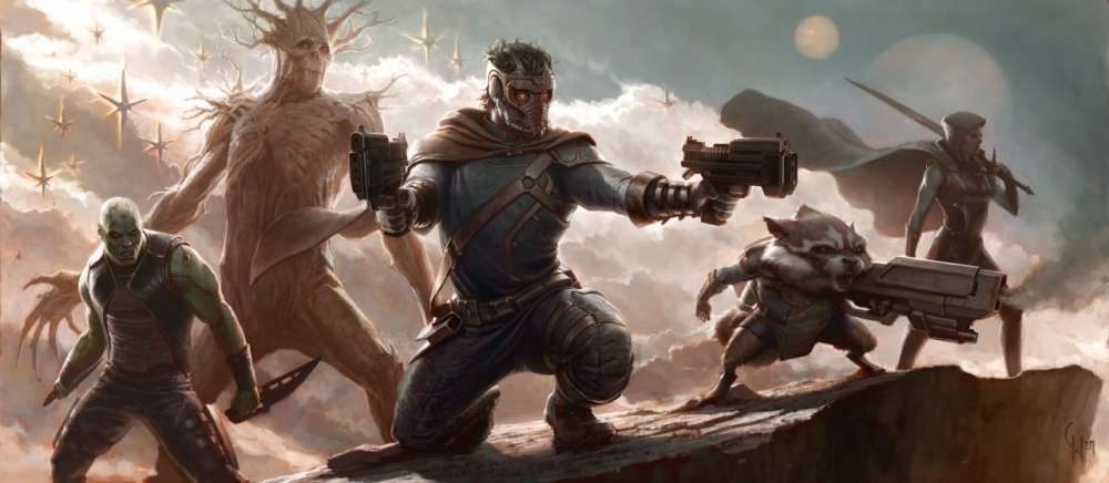 Concept Art για το νέο σχέδιο της Marvel – Guardians of the Galaxy…