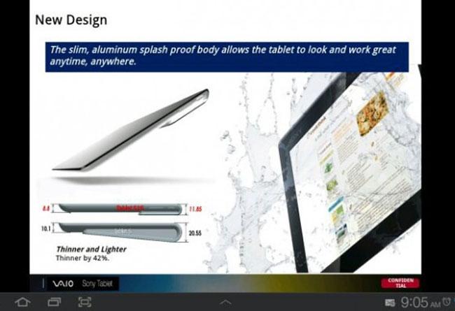 Διαρροή για τα specs του επόμενου super tablet της Sony;