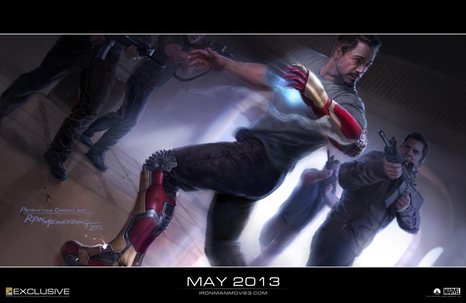 O Tony Stark και οι νέες πανοπλίες του 'Iron Man 3'…