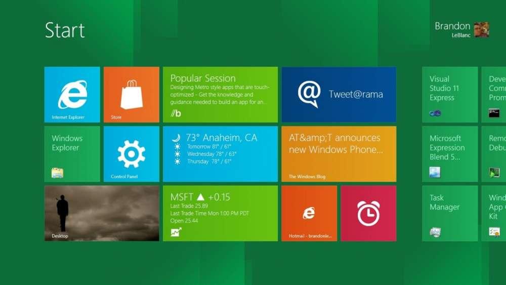 Windows 8 – επιβεβαιωμένα για Οκτώβριο…