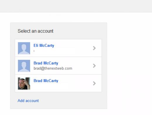 Google – νέα log-in σελίδα για πολλαπλά accounts στο Gmail;