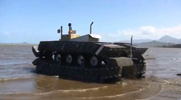 DARPA Captive Air Amphibious Transporter