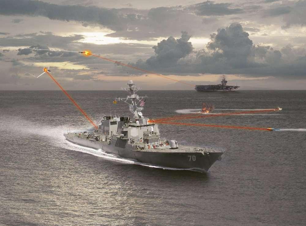 US Navy laser – φτάνει η εποχή Star Wars;