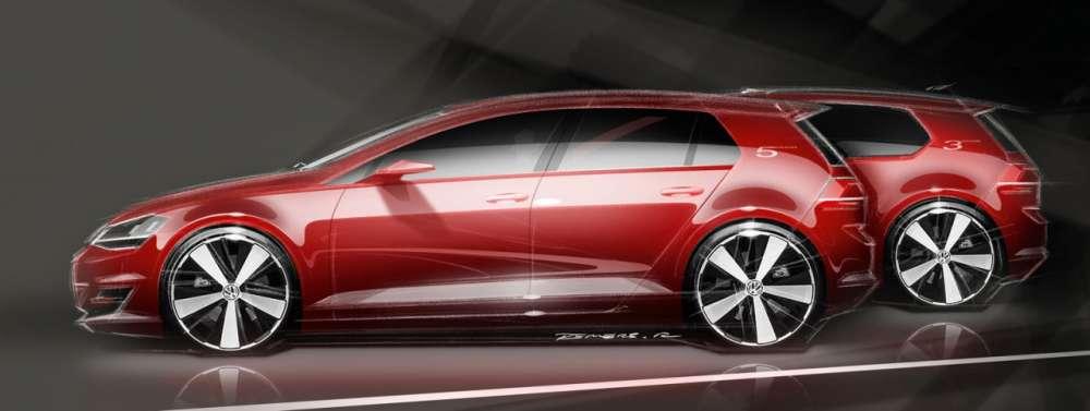 Volkswagen Golf VII – σχέδια…