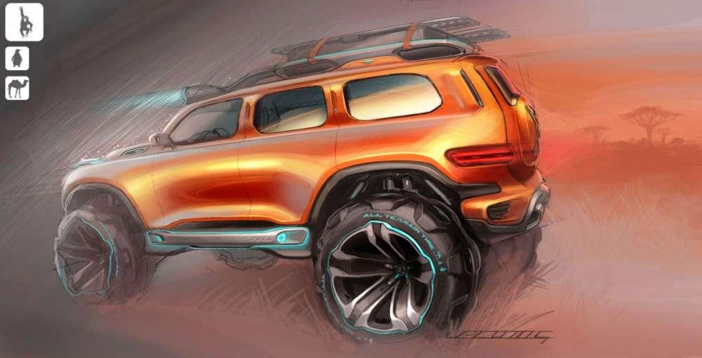 Mercedes Benz Ener G Force Concept Gadgetfreak Not